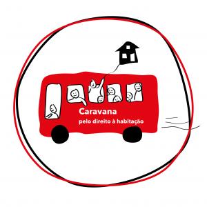 Caravana pelo Direito à Habitação Logo