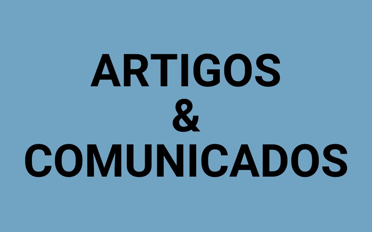 BOTÃO ARTIGOS E COMUNICADOS