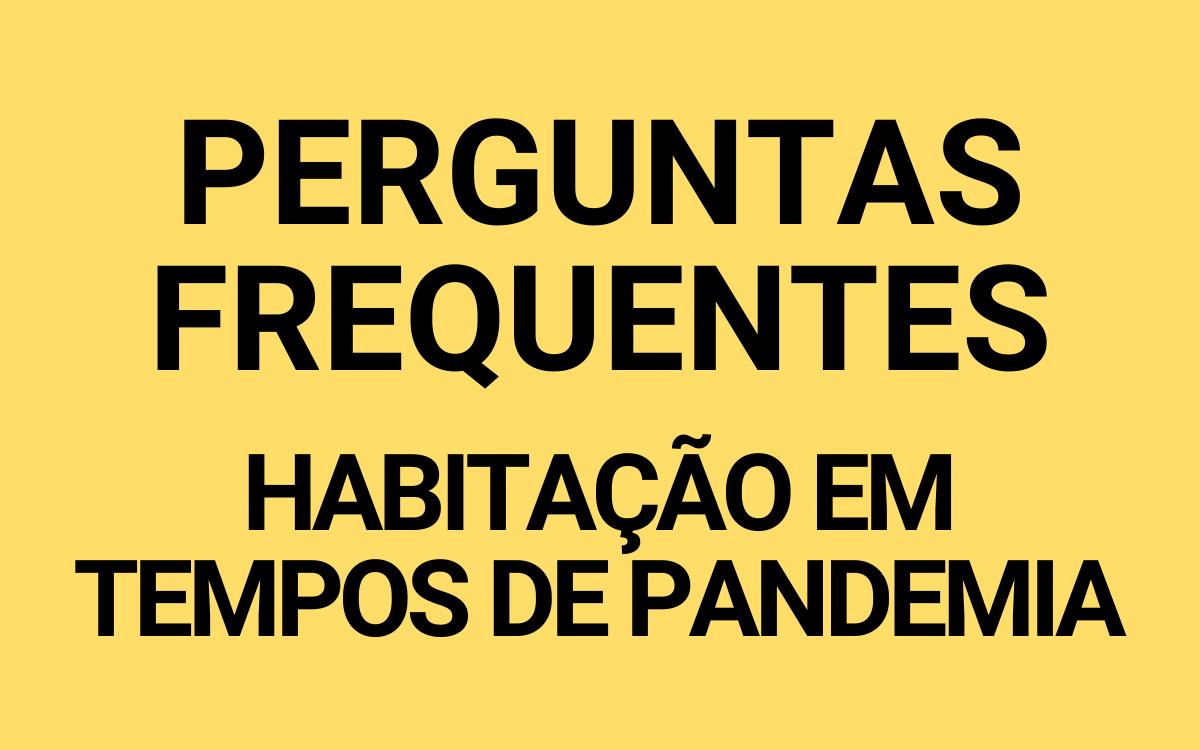 BOTÃO FAQ PANDEMIA